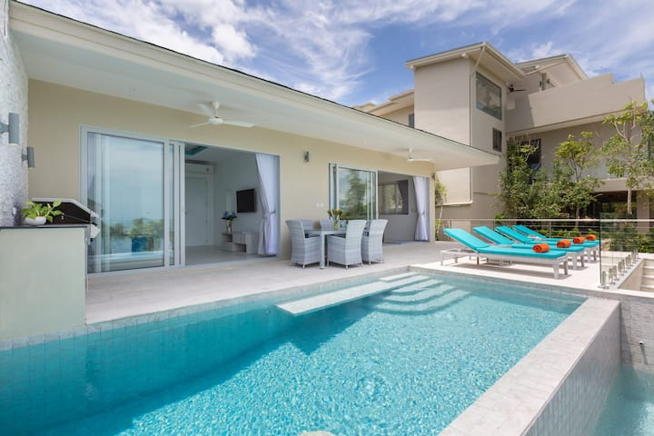 Luxury BRAND NEW Sunset Private 3BR Villa