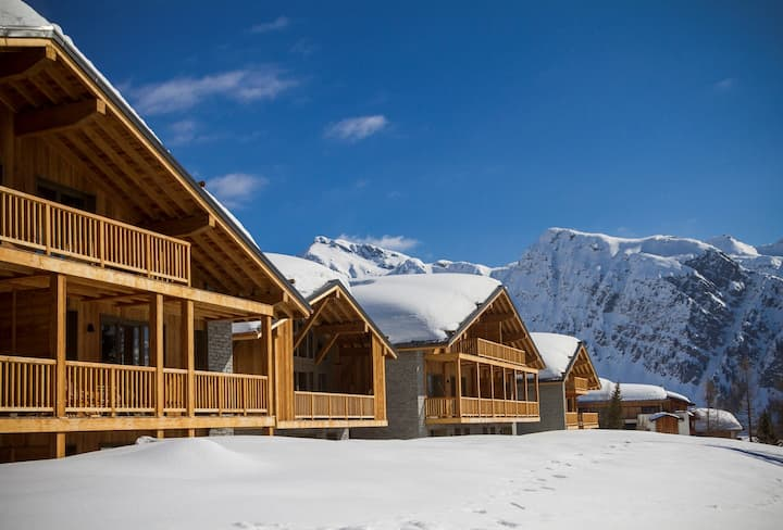 Ski l'Espace San Bernardo! Appartement Confortable | Wi-Fi Gratuit + Espace Bien-Être