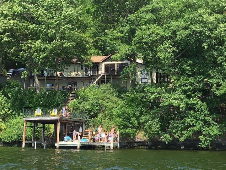 Spacious home on Seneca lake