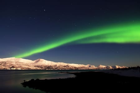 The house of Aurora Borealis and the Midnight Sun