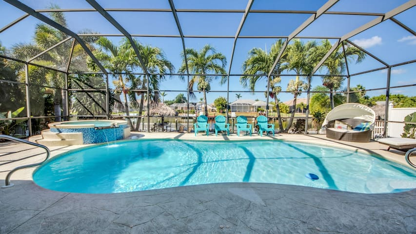 Roelens Vacations - Villa Coral Harbour - Cape Coral