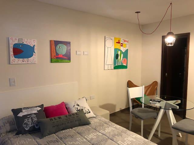 Studio 7  para 2 personas Excelente Ubicación