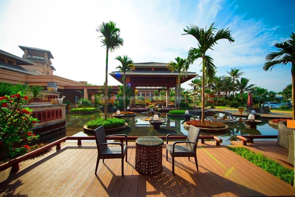 酒店观景平台