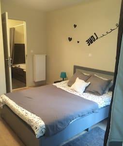 Rustig,cosy bedroom - Gent