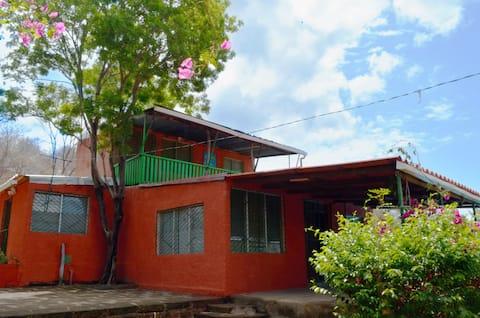 Casa de playa en Nicaragua.