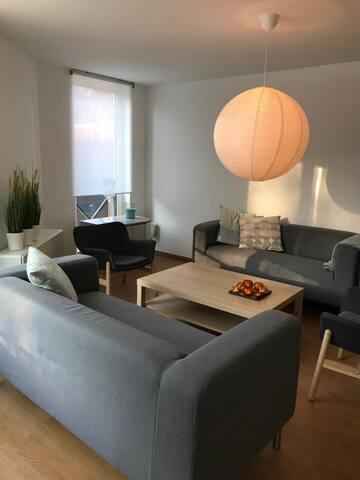 Leuk 3 slaapkamer appartement in de stad
