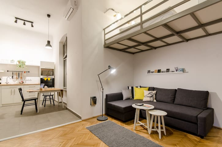 Stylish Studio in the heart of Budapest
