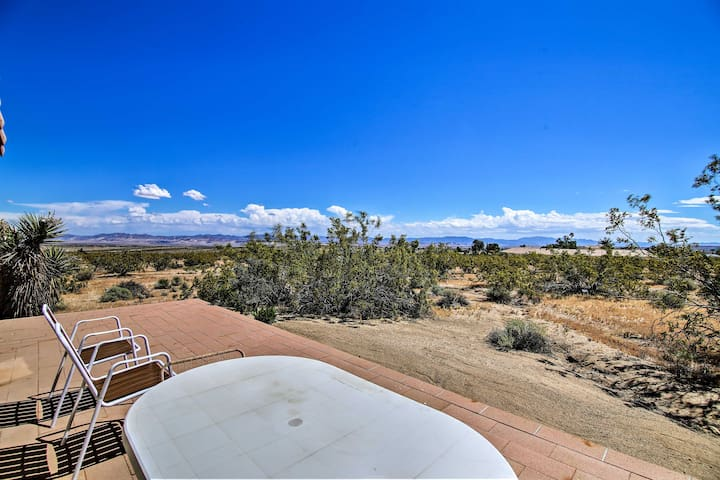 Enjoy the views of the Mojave Desert from Twentynine Palms, California!