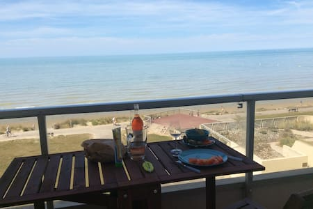 Flat in front of the sea -3rd Floor - Hardelot - Wohnung