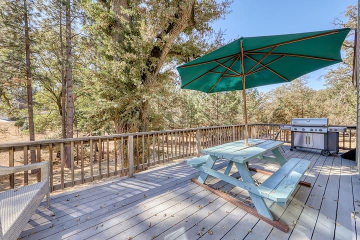 Beautiful home w/lake access, game table, shared pool near Yosemite!