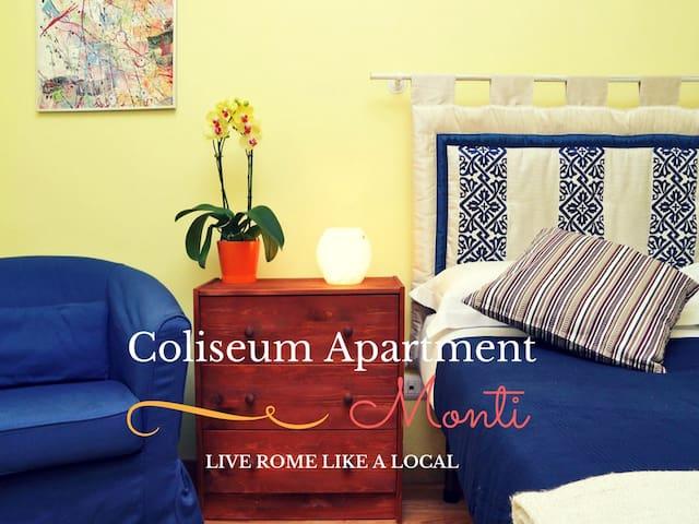 Cozy hidden gem in Monti/Colosseum