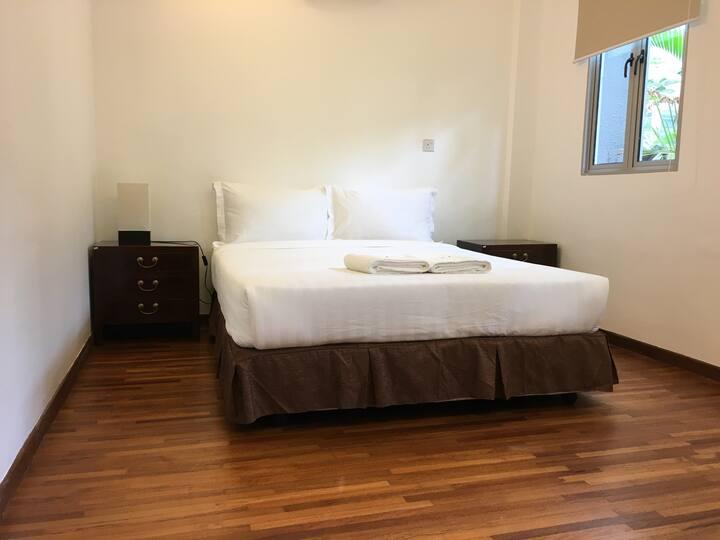 1 Bedroom with Patio (Walk to Aljunied MRT)