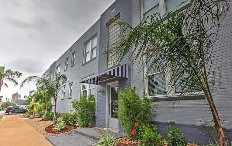 Bright 1BR Galveston Apartment - Galveston - Apartamento