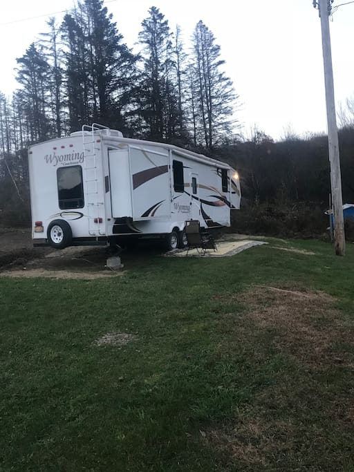 Camping for the weekend in luxury!