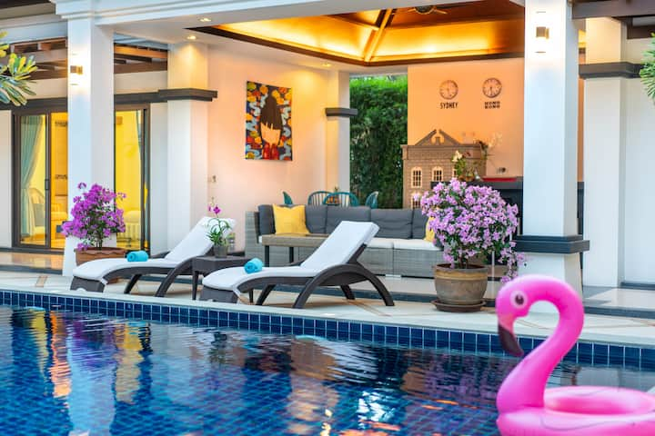 3-br. Luxury Private Pool Villa Gelsomino Bang Tao