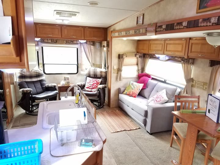 Little Nest- Posh RV in the Woods
