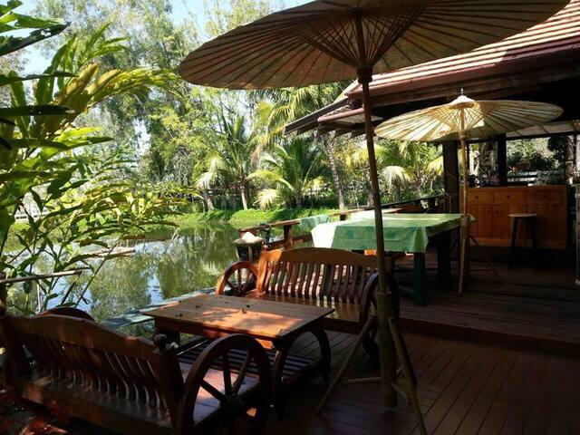 smile home บ้านริมสระ - Mueang Nga - House