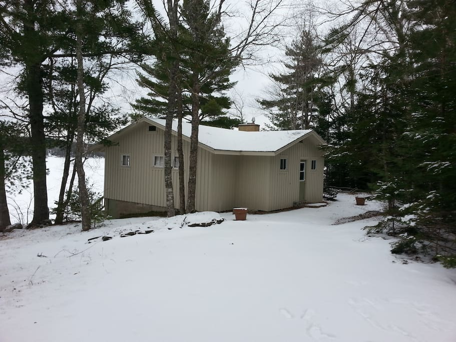 The Cottage in the Winter