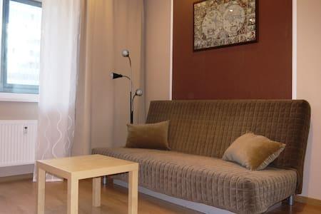 Уютная студия возле метро Девяткино - Lägenhet