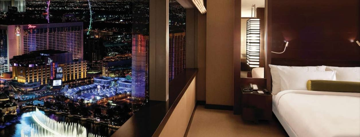 Vdara 1 Bedroom Luxury Suite Las Vegas