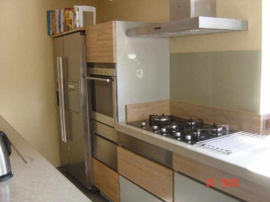 Kitchen Gas Oven Fridge Magnetron IceMachine Grill