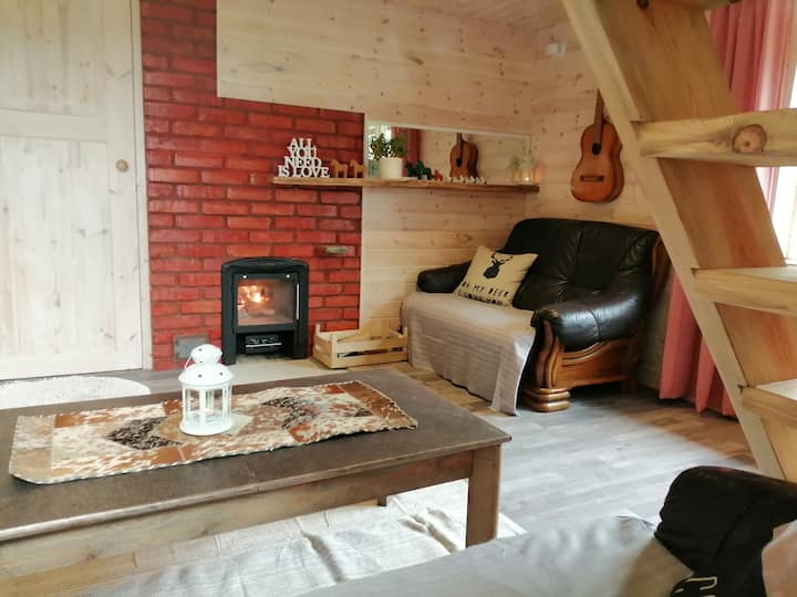 Charming Sauna Cottage in a Horse Ranch