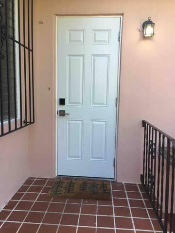Private Entrance door