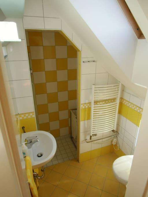 your yellow bathroom