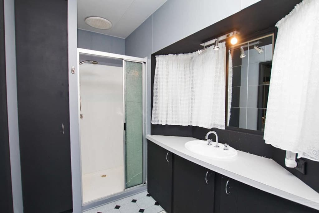Ensuite with shower & toilet