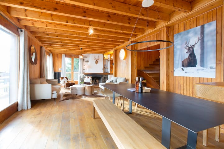 8 Bedrooms Luxury Chalet Mirasol - Le Grand-Bornand - House