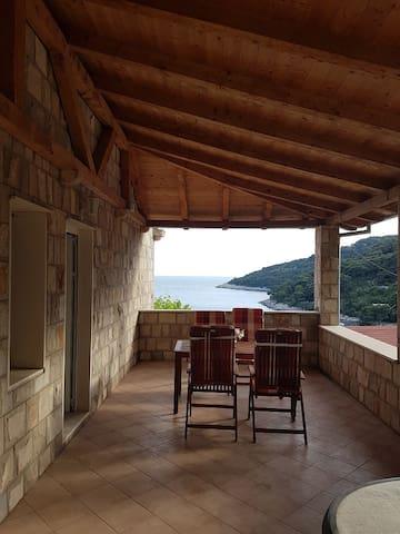 """#2 """"ROMANA"""" Seaview from terrace & balcony"""