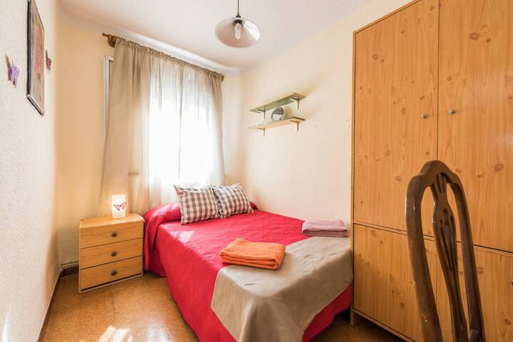 PE1 Room for 2 persons in Madrid + WIFI - Madrid - Apartamento