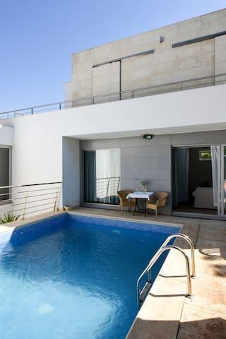 Pé na Areia - Guest House - Quarto 2
