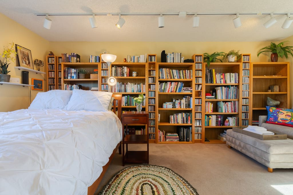 Room to a true bibliophile.