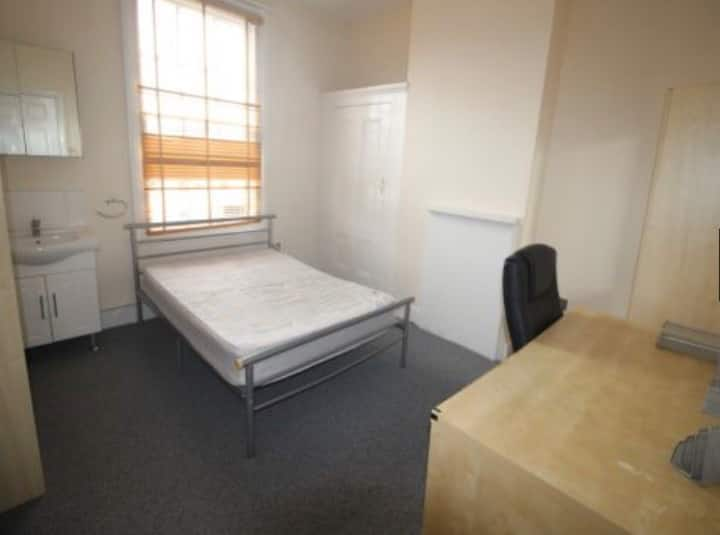 Room for students in a student accommodation