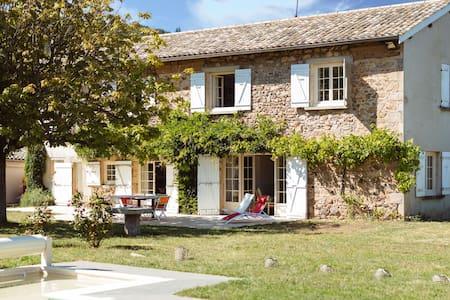 Grande maison dans les vignes - Vauxrenard - Дом