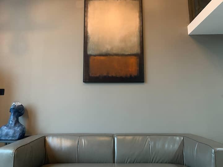 【坚果高清投影房】朗成漫度Man.DU X-ROOM 工业风复式山景大床房 可做饭/紫阳街/免费停车