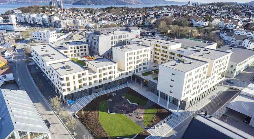 Moderne leilighet i spennende Stavanger øst