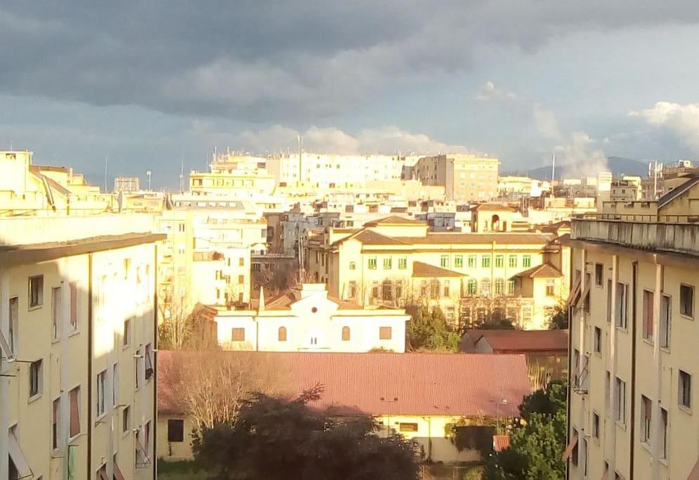 the view from the room / vista dalla camera