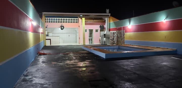 Área de lazer carreta furacão