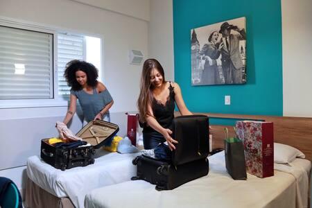 Apartamento 02 camas de solteiro