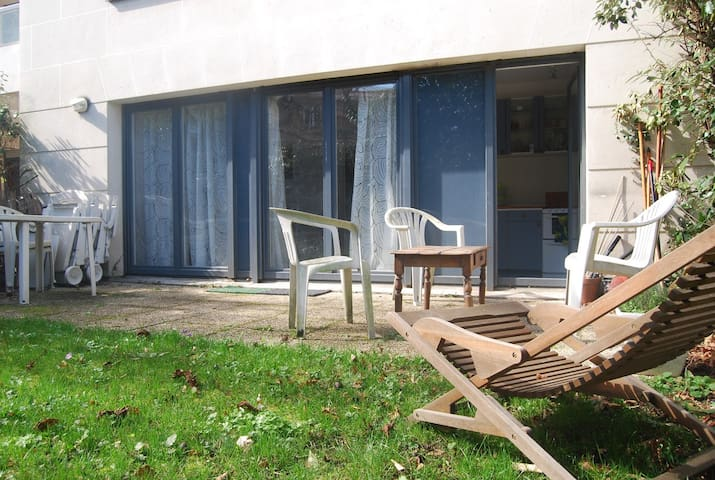 Studio avec jardin à Meudon - Meudon - Apartment