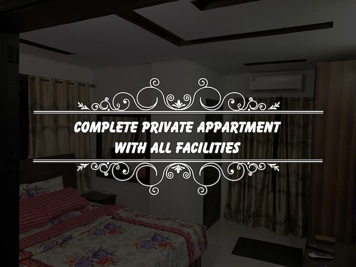 Complete Apartment only for Families Wifi+Netflix
