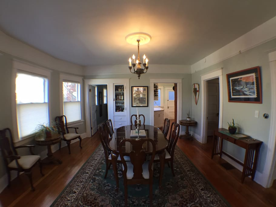Dining Room (w/ current table)