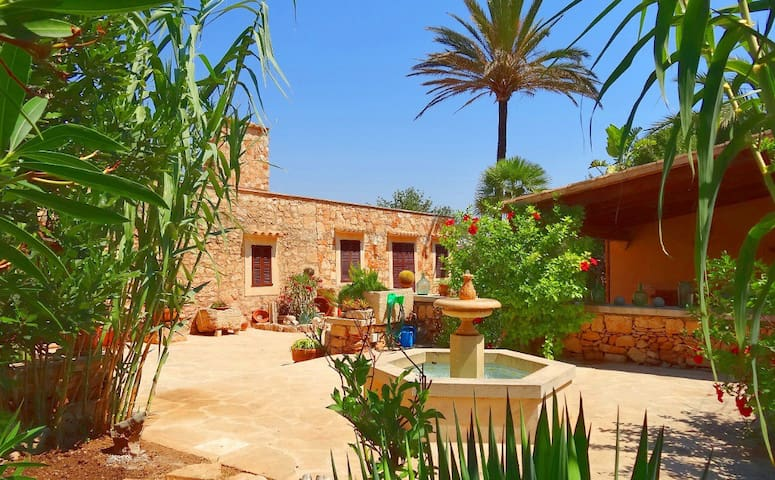 M4V2820 Villa mit Pool bei Santanyi; max. 6 Pers. - Santanyí - Villa