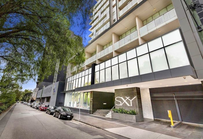 Modern Private Bed & Bath- Next to South Yarra Stn
