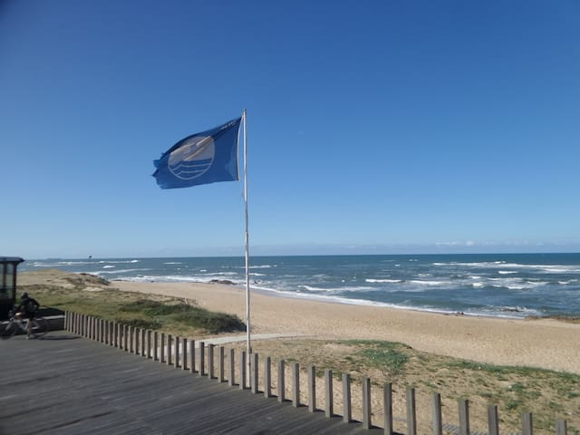 Beach apartment near Porto - Labruge - Apartamento