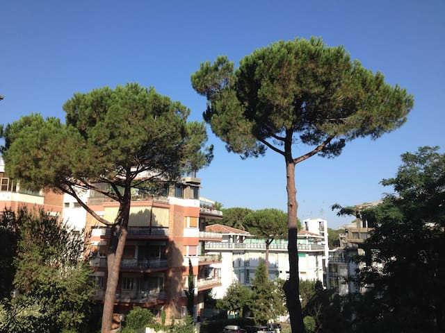 Lovely apartment amidst the trees - Roma - Apartamento
