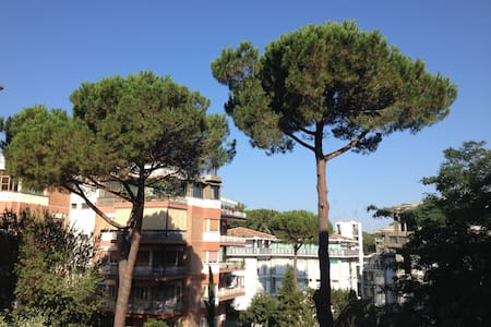 Lovely apartment amidst the trees - Roma - Daire