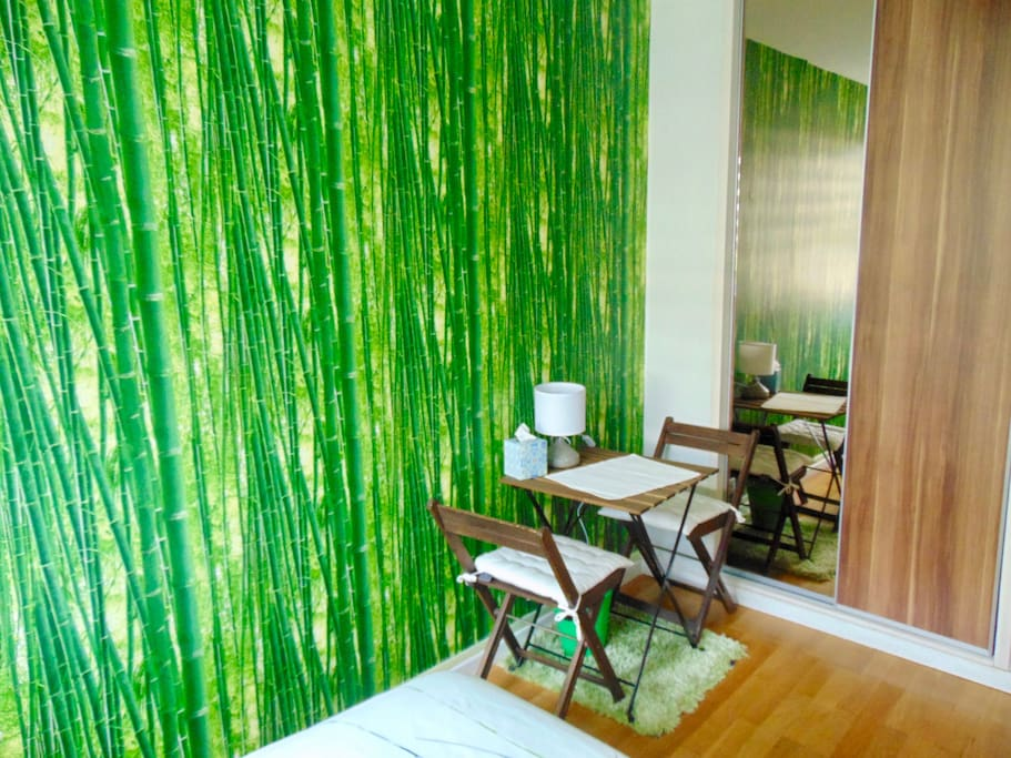 Bureau de la chambre Bambou